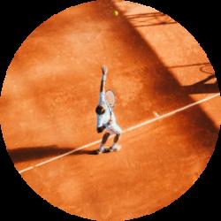 Le Domaine du Castel   Court de tennis Kertzfeld